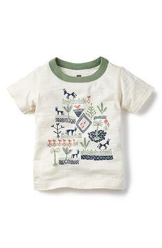 'Warli Farm' Graphic T-Shirt (Baby Boys)