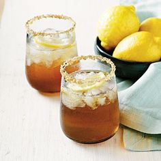 Bourbon-Maple Sour | CookingLight.com