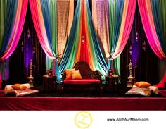 Sangeet backdrop #indianwedding #sangeet #sangeetdecor
