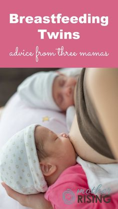 Are you preparing for breastfeeding twins? Are you currently breastfeeding twins? Here is some practical advice from 3 mamas who successfully breastfed twins each past one year.