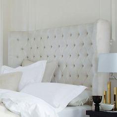 Belgravia Headboard - Beds | The White Company