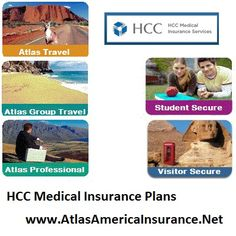 HCC Medical Insurance Plans for USA visitors and International travelers, Atlas America, Atlas Group Travel, Atlas Professional, Visitor Secure, Student Secure, and much more. Review, quote, buy coverage online at http://www.atlasamericainsurance.net/hcc-medical-insurance-services-plans/ #hccmisinsurance #hccmedicalinsuranceplans #hccmis