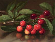 George Henry Hall Cherries 1858