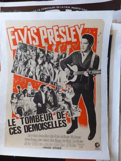 French Elvis Movie Poster
