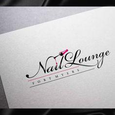 Runner-up design by Tonino Design Nail Salon Names, Nail Salon Decor, Best Logo Design, Custom Logo Design, Custom Logos, Men's Grooming, Lounge Logo, Edge Logo, Skincare Logo