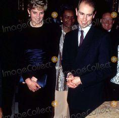 Princess Diana_edward Commonwealth Reception Marlborough House 03-08-1993 Alpha/Globe Photos,inc.
