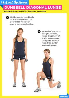 This Lunge Variation Will Work Your Muscles in All New Ways…
