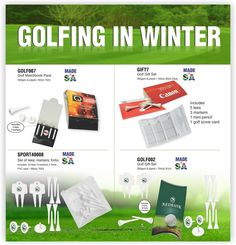 Golf Corporate Gifts from Best Branding GOLF007 Golf matchbook pack with full colour digital print box (Includes: 4 tees unbranded and 1 marker unbranded)  GIFT7 Golf gift set with full colour digital print box (Includes: 5 tees unbranded, 3 markers unbranded, 1 golf plastic pencil unbranded and 1 golf score card) SPORT40008Set of tees; markers; forks with unbranded PVC case (Includes: 10 tees unbranded, 3 markers unbranded and 2 forks unbranded) GOLF002 Golf gift set with full colour… Stadium Cushions, Golf Score, Print Box, Golf Gifts, Golf Accessories, Outdoor Cushions, Corporate Gifts, Markers, Digital Prints