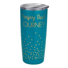 Insulated Tumbler- Enjoy the Journey - Occasionally Made - Classic Gifts with a Trendy Twist!