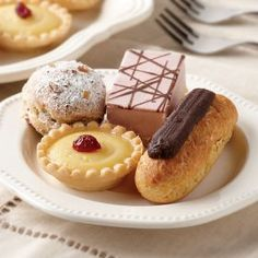 assorted pastries from Omaha Steak  ~yum!~