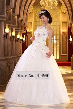 Find More #Wedding #Dresses Information about #HOT Free shipping new 2014 white red #princess #fashionable wedding dress romantic tulle wedding dresses