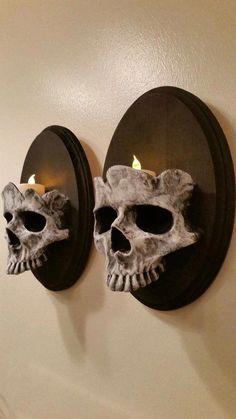 Halloween Prop, Holidays Halloween, Halloween Crafts, Gothic Halloween Decorations, Halloween Wall Decor, Halloween Design, Vintage Halloween, Samhain Decorations, Happy Halloween