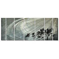 @Overstock - Artist: Megan Duncanson  Title: Solitude  Product type: Metal wall sculpturehttp://www.overstock.com/Home-Garden/Megan-Duncanson-Solitude-Metal-Wall-Art/5196042/product.html?CID=214117 $309.99