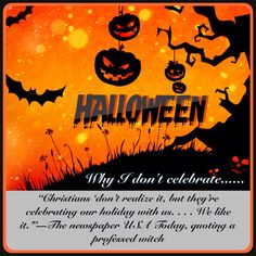 10 Say No To Halloween Ideas Halloween Christianity Spiritual Warfare