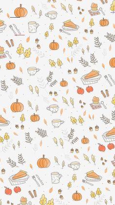 Cute Fall Wallpaper, November Wallpaper, Pretty Phone Wallpaper, Halloween Wallpaper Iphone, Holiday Wallpaper, Cute Patterns Wallpaper, Iphone Background Wallpaper, Of Wallpaper, Aesthetic Iphone Wallpaper