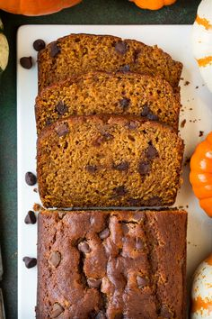 Pumpkin Chocolate Chip Bread - Cooking Classy