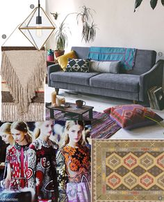 Take a more #vintage approach, Bohemian Rhapsody vibes are making a comeback with #retro #colors, #prints, and cuts.