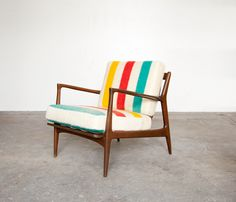 I have a chair almost exactly like this one waiting to be recovered! Hmmmm ....