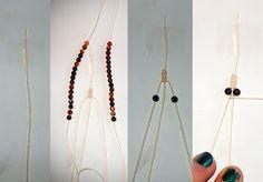 Quiet Lion Creations by Allison Beth Cooling: Chan Luu Single Wrap Macrame Bracelet
