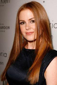 Isla Fisher Red Hair - fashion