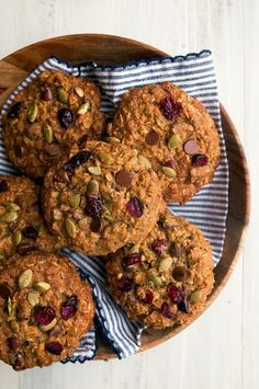 Pumpkin Spice Oatmeal Cookies | Dessert for Two