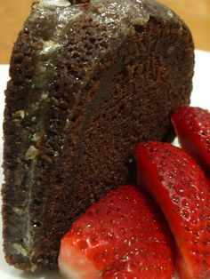 Jack Daniels Chocolate Fudge Cake by Urban Drivel, via Flickr
