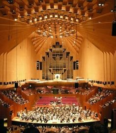 Sydney Opera House - Inside are six auditoriums where dance, concerts, opera and theatre are staged, plus the left-of-centre Studio for emerging artists.