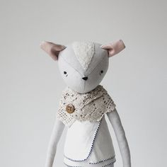 fox doll sample sale by ohalbatross on Etsy