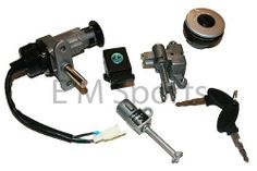 Gy6 Gas Scooter Moped Key Ignition & Lock 50cc 125cc 150cc 250cc . $29.95