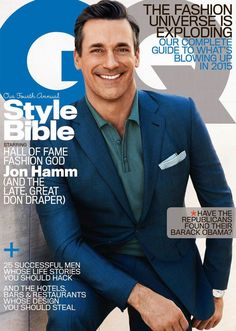 Jon Hamm en portada de GQ USA Abril 2015