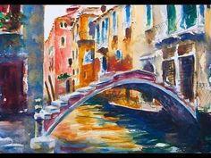 Venice Watercolor Painting Tutorial - YouTube