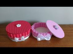 How to Make Jewellery Basket Diy Crafts Hacks, Foam Crafts, Craft Tutorials, Diy And Crafts, Arts And Crafts, Paper Crafts, Diy For Kids, Crafts For Kids, Diy Tops