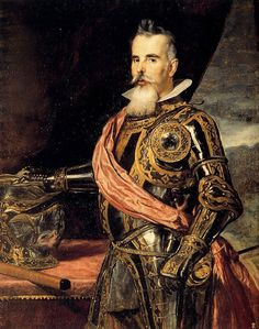 Diego Rodriquez de Silva y Velázquez (Spanish, 1599 - 1660), Juan Francisco Alfonso de Pimentel, Count of Benavente, c. 1648, oil on canvas.