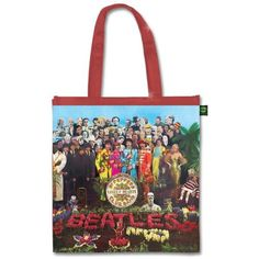 NEW The Beatles Liverpool Insulated Shopping Tote REUSEABLE John Paul George