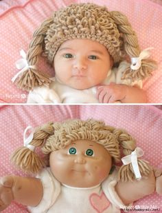 Cabbage patch idea... toys then and now. You have playaways. Mom had cabbage patch dolls