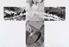 Barbara Krakow Gallery  Visible Merge  JANUARY 26, 2013 - MARCH 9, 2013  Featuring works by  John Baldessari, Frank Egloff, Robert Rauschenberg   and John Stezaker