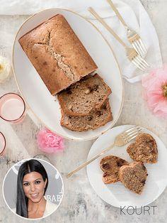 Kourtney Kardashian's Chocolate Chip Banana Bread