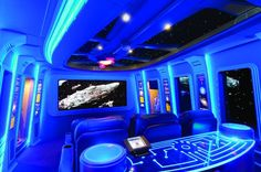 This is a Star Wars themed home theater in a square foot mansion in Honolulu. It's not to be confused with THIS Star Wars themed home theater that looks like two buttholes sewn together in comparison. Home Theatre Room Design, Home Theater Basement, Home Theater Decor, Best Home Theater, At Home Movie Theater, Home Theater Speakers, Home Theater Rooms, Home Theater Seating, Cinema Room