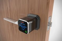 Genie Smart Lock, serrure connectée WiFi Compensated Affiliate Disclaimer Note: This post contains affiliate links, which means if you buy the product I may receive some monetary compensation. I only recommend products I use and love! Home Technology, Technology Gadgets, Technology Design, Home Gadgets, Tech Gadgets, Smart Door Locks, Future Gadgets, Cool Tech, Home Automation