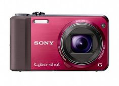 Sony Cyber-Shot DSC-HX7V 16.2 MP Exmor R CMOS Digital Still Camera with 10x Wide-Angle Optical Zoom G Lens, 3D Sweep Panorama, and Full 1080/60i HD Video (Red)