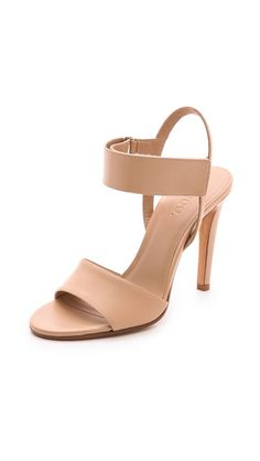 Nude heels-perfect for Spring