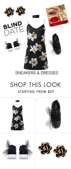 """blind date quick escape"" by kkornak on Polyvore featuring WithChic, Kurt Geiger and Chantecler"