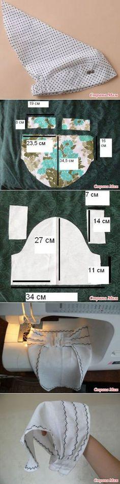 МК - косынка на резинке.