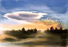 Storm Front | Larry Fentz Studio – Orginal Watercolors