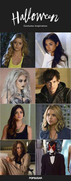 Take a look here to get plenty of ideas for your Pretty Little Liars Halloween