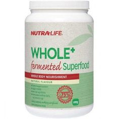 Nutra-Life Whole+ Fermented Superfood | HealthPost NZ - Bargain Bro