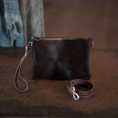 Modernist Wallet | Espresso Toffee Hair Hide