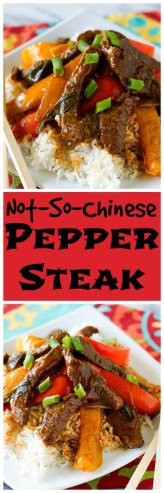 Business Cookware Ought To Be Sturdy And Sensible Not-So-Chinese Pepper Steak Meat Recipes, Slow Cooker Recipes, Asian Recipes, Crockpot Recipes, Cooking Recipes, Chinese Recipes, Chinese Food, Rice Recipes, Kitchens