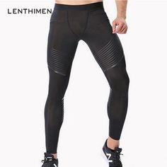 c1fb5559c020a 2018 Crossfit Compression Pants Men 3D Print Tights Sportswear Joggers  Bodybuilding Pants Elastic Trousers Fitness Leggings MMA