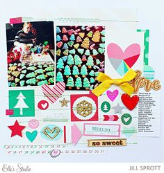 Cookie Love - Scrapbook.com - Don't forget to take pictures and scrapbook the Christmas cookies!